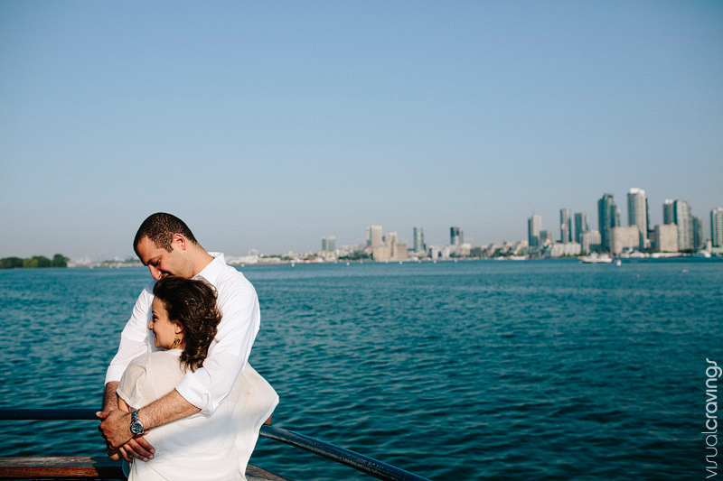 Centre Island Toronto creative engagement photography