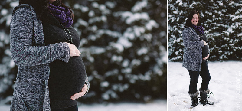 Creative outdoor Whitby maternity portrait photography