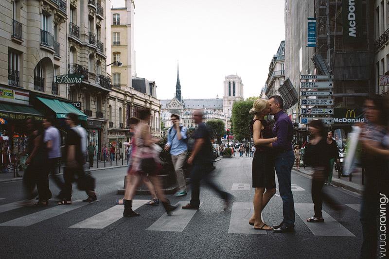Paris France Destination wedding photography | Engagement photos