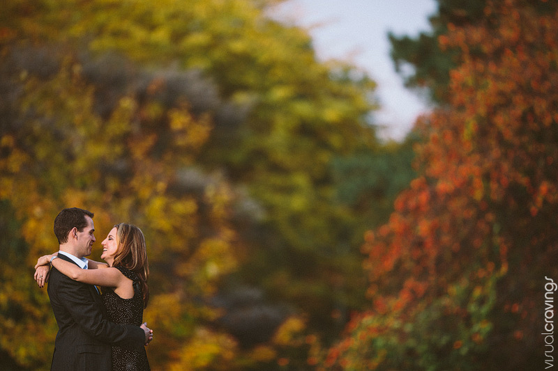 High Park Toronto fall engagement