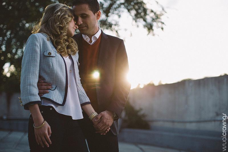 Creative engagement photography Kleinburg - Toronto wedding photographer