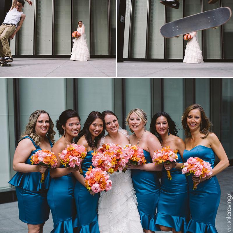 Fermenting Cellar Distillery District Toronto creative wedding photographer