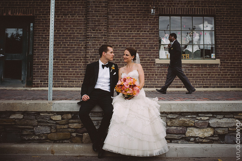 Fermenting Cellar Distillery District Toronto creative wedding photographer