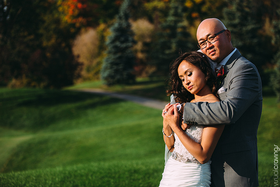 Fall wedding photography Markham