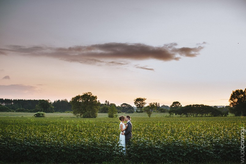 Stunning Ontario country wedding