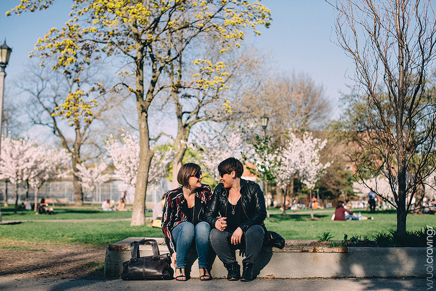 Trinity Bellwoods engagement photography