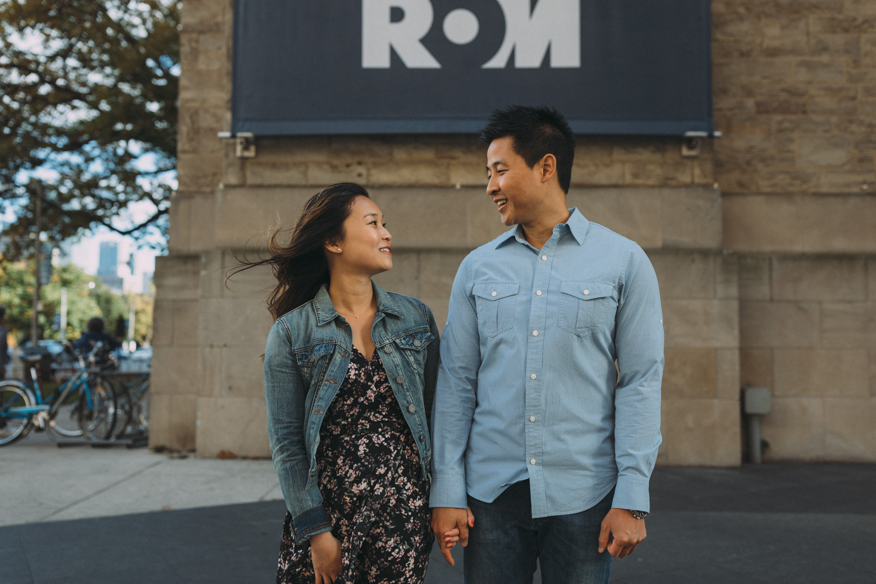 ROM engagement photography