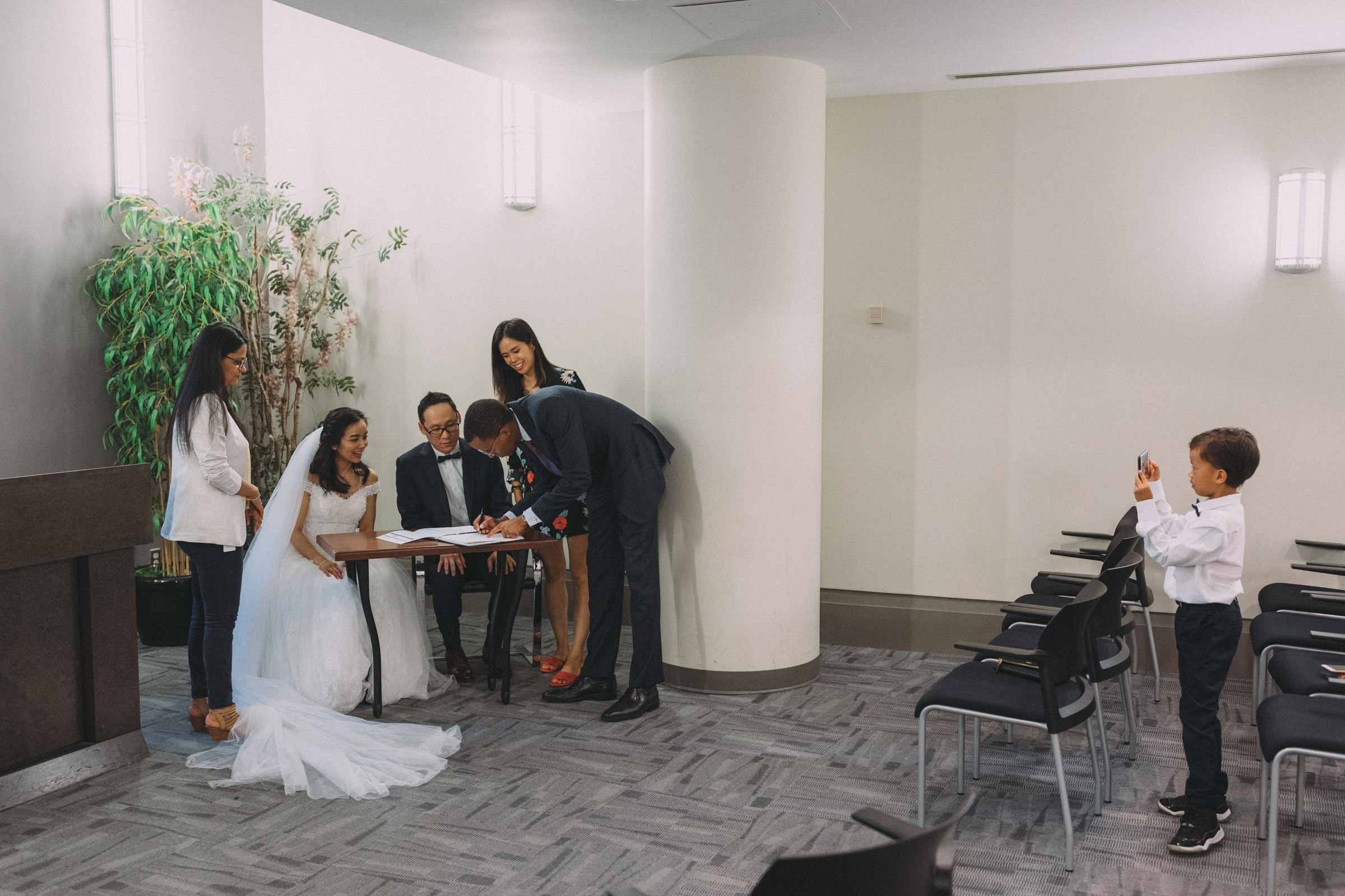 Mississauga civil wedding ceremony