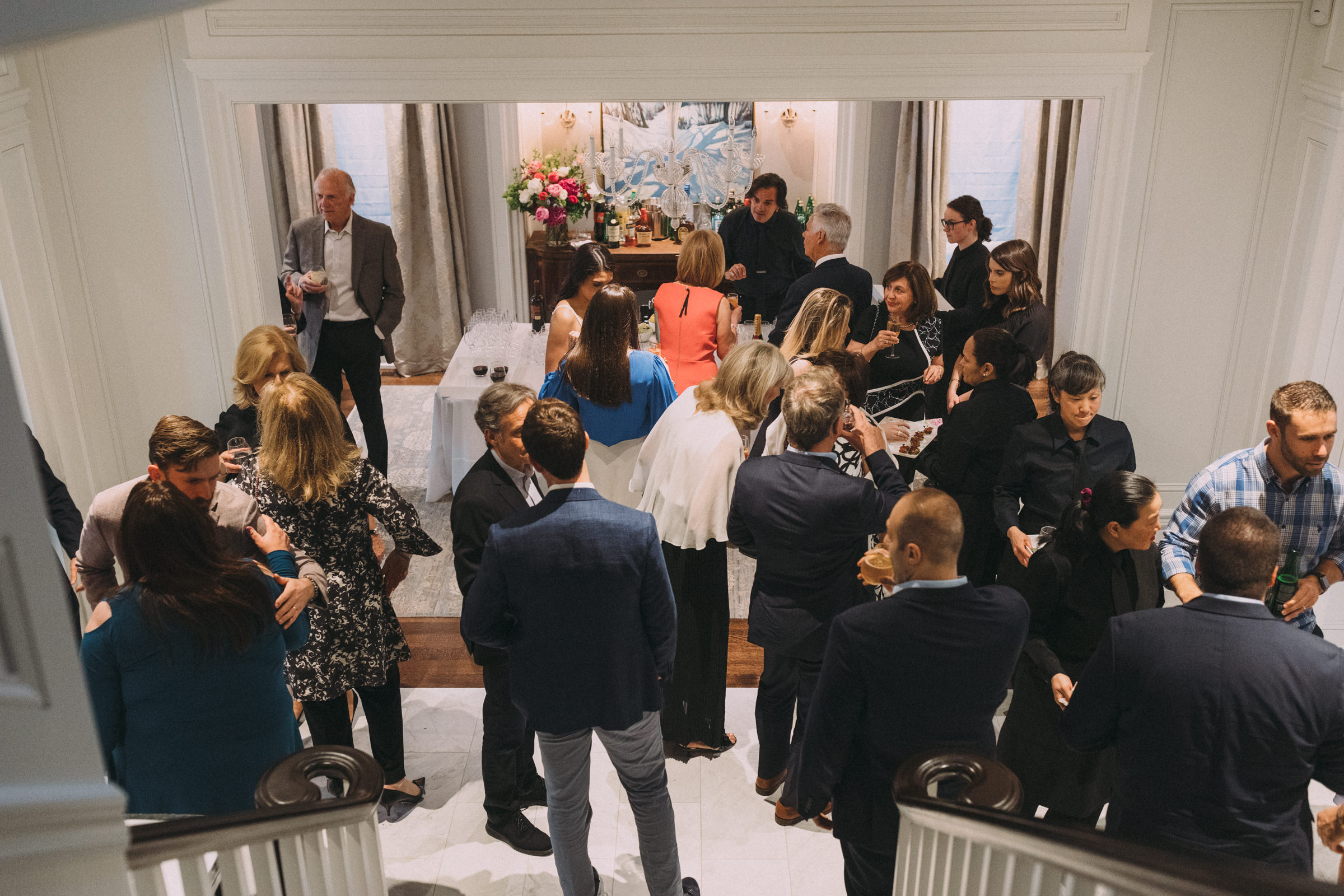 Intimate engagement party Toronto photography