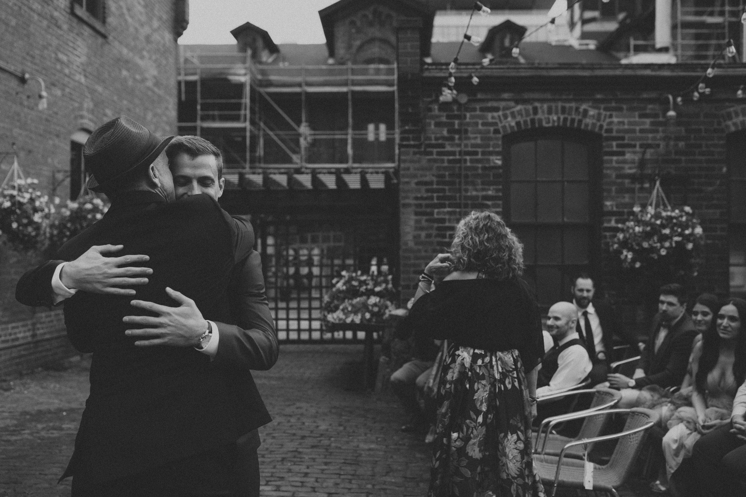 Distillery District Toronto wedding photography