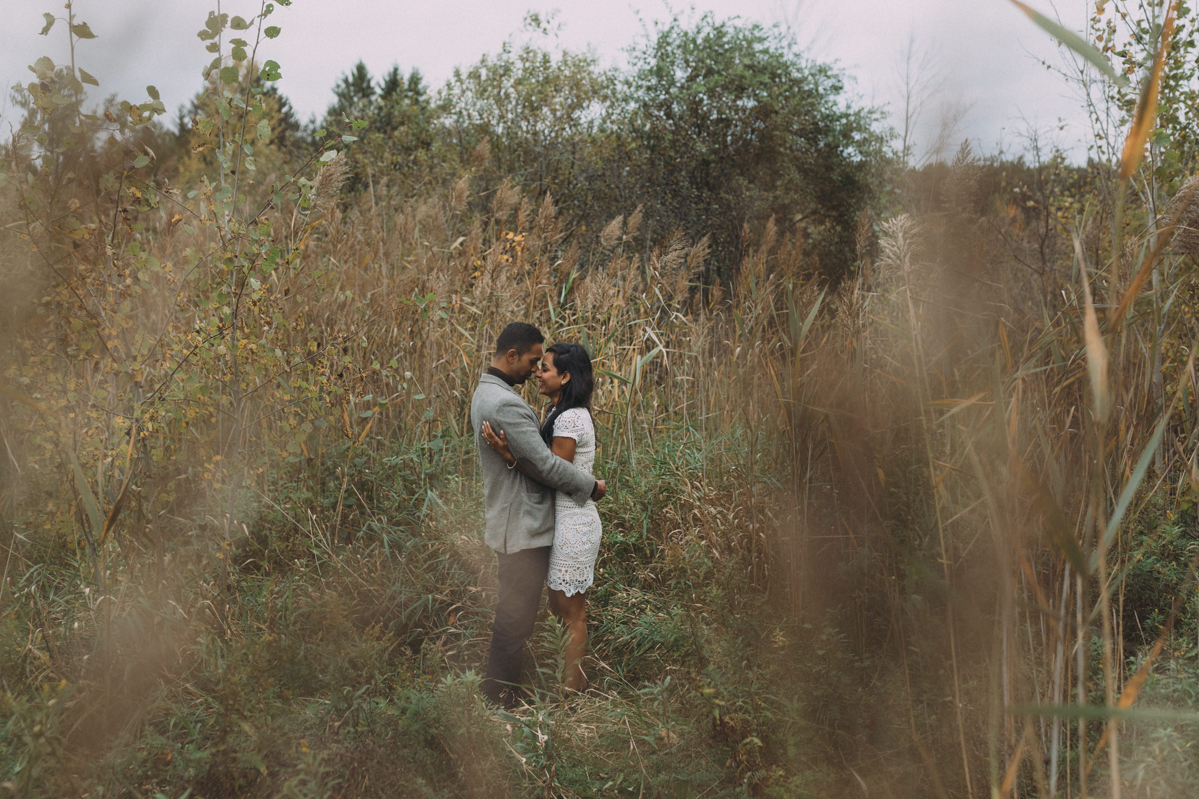 Fall engagement session photography